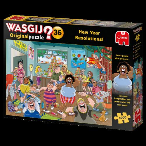 Jumbo Wasgij Original 36 - Goede Voornemens! (1000)