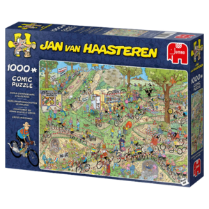 Jumbo Veldrijden - Jan van Haasteren (1000)