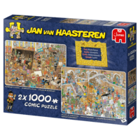 Een Dagje naar het Museum - Jan van Haasteren (2 x 1000)