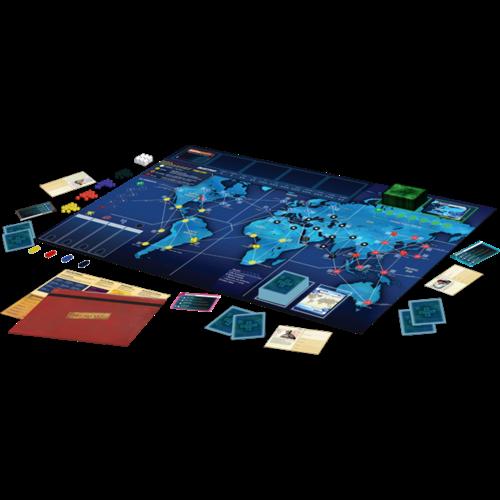 Z-Man Games Pandemic ENG- Legacy Season 1 Red