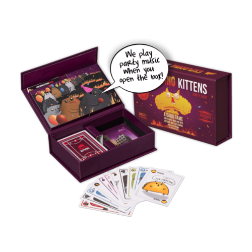 - Exploding Kittens ENG Party Pack