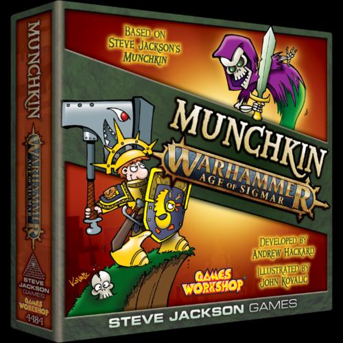 Steve Jackson Games Munchkin Warhammer- Age of Sigmar