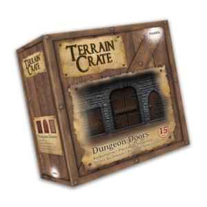Mantic TerrainCrate- Dungeon Doors (15)