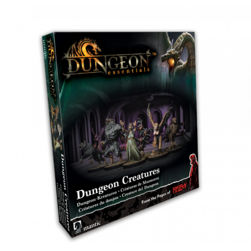 Mantic TerrainCrate- Dungeon Essentials Dungeon Creatures