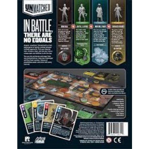 Restoration Games Unmatched Battle of Legends- Cobble and Fog