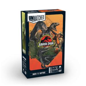 - Unmatched Jurassic Park Ingen vs Raptor