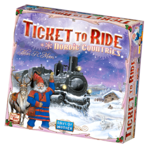 Days of Wonder Ticket to Ride ENG- Nordic Countries