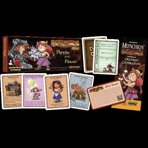 Slugfest Games The Red Dragon Inn- Allies Spyke & Flower
