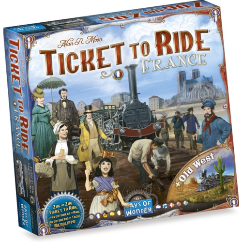 Days of Wonder Ticket to Ride- France & Old West exp.