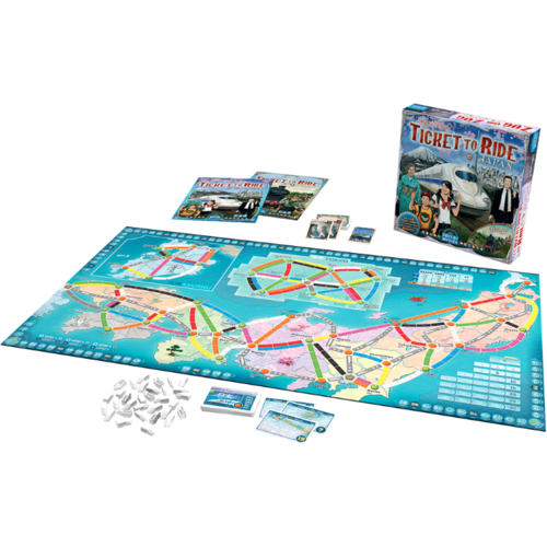 Days of Wonder Ticket to Ride- Japan & Italy exp.