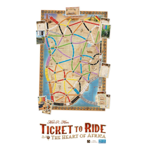 Days of Wonder Ticket to Ride- The Heart of Africa exp.