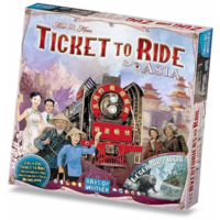 Ticket To Ride- Asia exp.