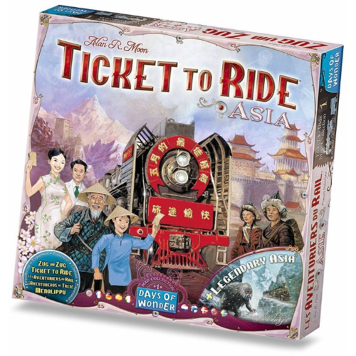 Days of Wonder Ticket To Ride- Asia exp.