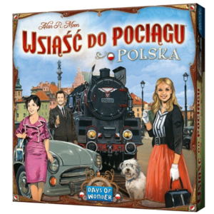 Days of Wonder Ticket to Ride- Poland expansion (ENG)