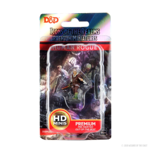 D&D Icons of the Realms Premium Figures: Human Rogue Male
