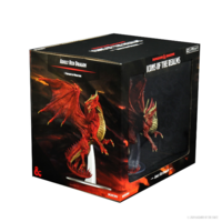 D&D Icons of the Realm- Adult Red Dragon Premium Figure (painted)