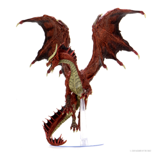 D&D Icons of the Realms- Adult Red Dragon