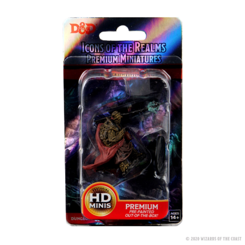 Wizk!ds D&D Icons of the Realms Premium Figures: Male Tortle Monk