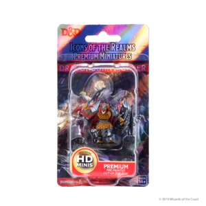 Wizk!ds D&D Icons of the Realms Premium Figures: Male Dragonborn Fighter