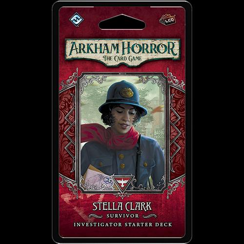 Fantasy Flight Arkham Horror LCG- Stella Clark Investigator Deck