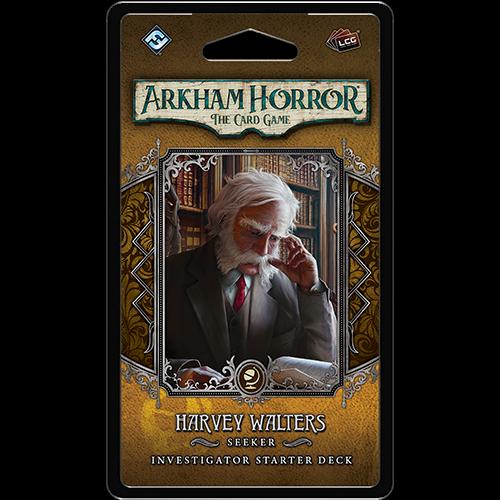 Fantasy Flight Arkham Horror LCG- Harvey Walters Investigator Deck