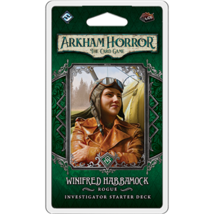 Fantasy Flight Arkham Horror LCG- Winifred Habbamock Investigator Deck