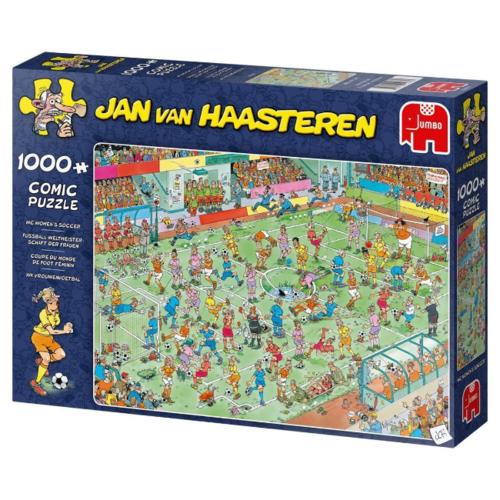 Jumbo WK Vrouwenvoetbal - Jan van Haasteren (1000)