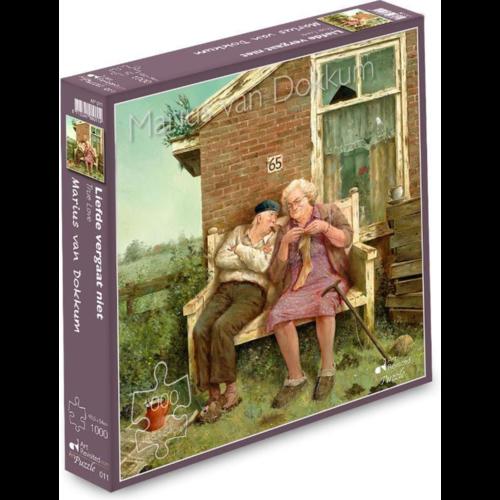 Art Revisited Puzzel Liefde Vergaat Niet- Marius van Dokkum (1000)