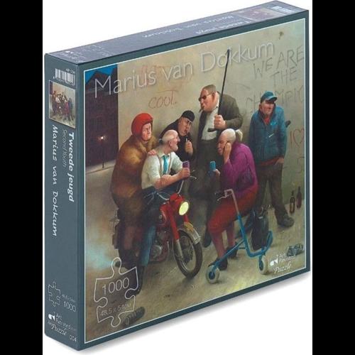 Art Revisited Puzzel Tweede Jeugd- Marius van Dokkum (1000)