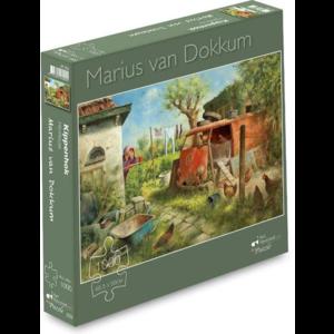 Art Revisited Puzzel Kippenhok- Marius van Dokkum (1000)