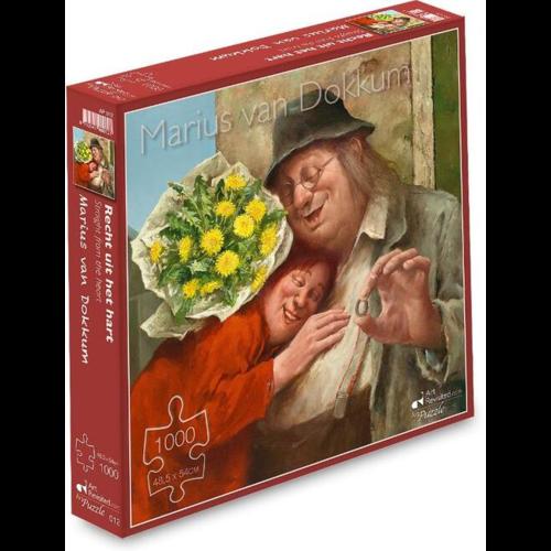 Puzzel Recht uit het Hart- Marius van Dokkum (1000)