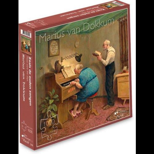 Puzzel Zoals de Ouden Zongen- Marius van Dokkum (1000)