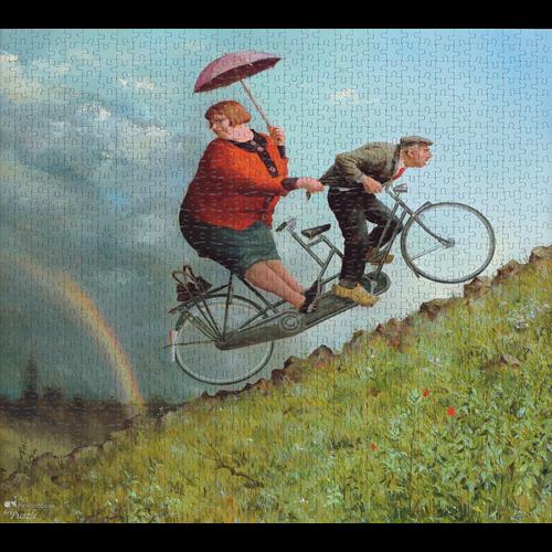 Art Revisited Puzzel Weerstandem- Marius van Dokkum (1000)