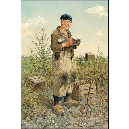 Puzzel De Aardappelsteker- Marius van Dokkum (1000)