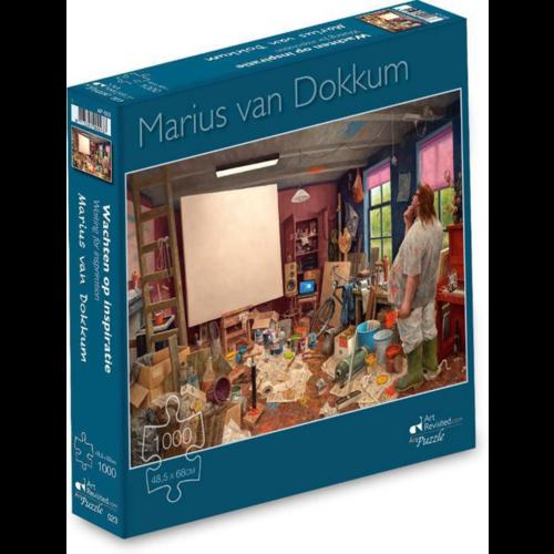 Puzzel Wachten op Inspiratie- Marius van Dokkum (1000)