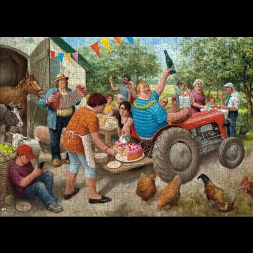 Puzzel Tuinfeest- Marius van Dokkum (1000)