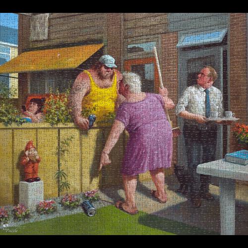 Puzzel De Druppel- Marius van Dokkum (1000)