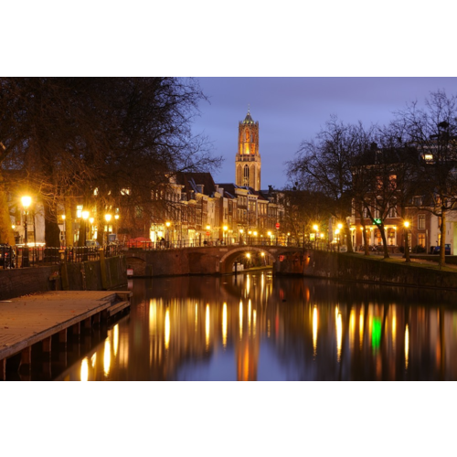 - Donker Utrecht Puzzle- Oudegracht, Zandbrug