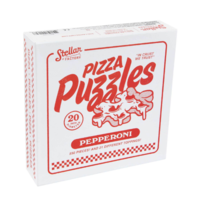 Pizza Puzzle: Pepperoni