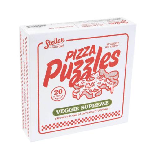 - Pizza Puzzle: Veggie Supreme