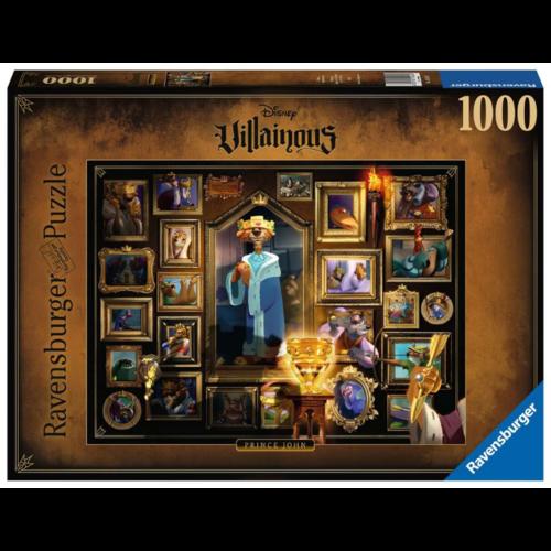 Ravensburger Puzzel King John- Disney Villainous (1000)