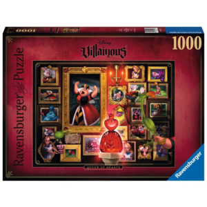 Ravensburger Puzzel Queen of Hearts- Disney Villainous (1000)