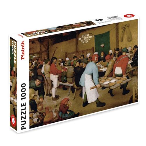 Piatnik Puzzel - Bruegel Bauernhochzeit (1000)