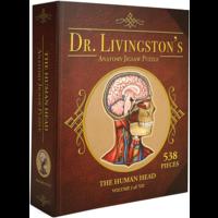 The Human Head- Dr. Livingston's Anatomy Jigsaw Puzzle