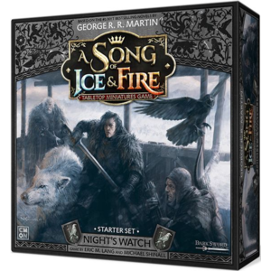 Cool Mini or Not A Song of Ice and Fire- Night's Watch Starter Set