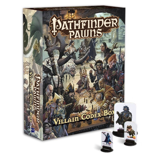 Paizo Villain Codex Pawn Box