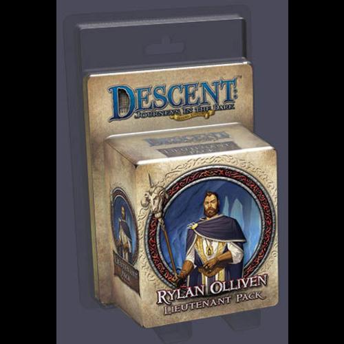 Fantasy Flight Descent 2nd Ed: Rylan Olliven Lieutenant Pack