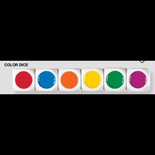 Koplow Color dice- kleuren dobbelstenen 22mm