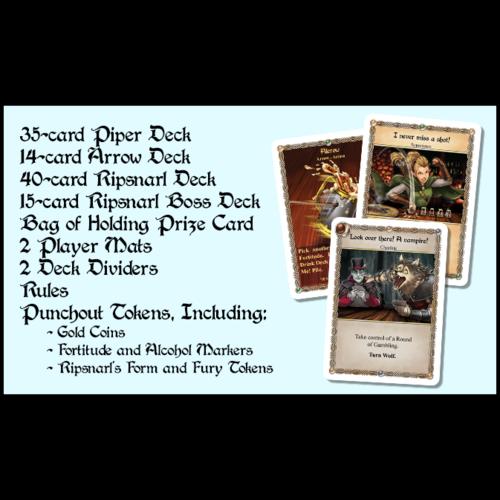 Slugfest Games Red Dragon Inn Allies- Piper vs Ripsnarl