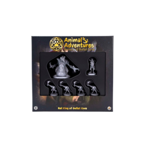 Steamforged Animal Adventures- Rat King of Gullet Cove
